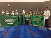 سعوديين يحققون المركز الثالث في مسابقة الروبوت العالمية في هيوستن