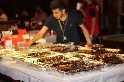 احتفال عيد الفطر في جامعة جانون بمدينة إيري بولاية بنسلفانيا