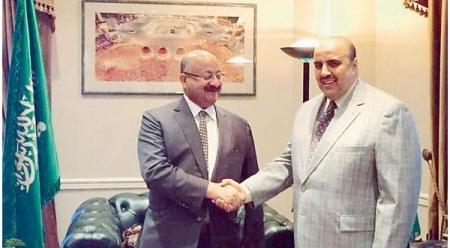 السفير السعودي يتفقد قنصلية المملكة في لوس أنجليس
