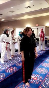 النادي السعودي في جامعة ساوثرن ميثوديست يقيم دورة اساسيات الدفاع عن النفس للنساء