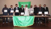 النادي السعودي في بولاية اركانساس الامريكية يحتفل بتخريج دفعة من المبتعثين