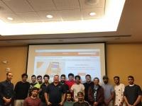 """النادي السعودي في جامعة تكساس تك في لوبوك يقيم دورة بعنوان """"إدارة السلامة والصحة المهنية في المجالات الهندسية"""
